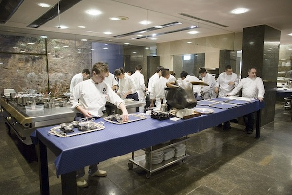 home page: kitchen at elBulli